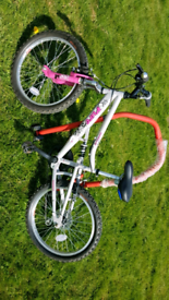 Apollo Pure fs girls bike for sale fully working ready to ride away. A