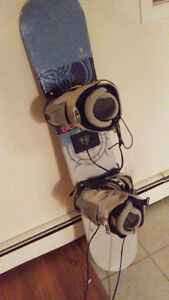 size 10.5 white firefly boots with two board and the snaps