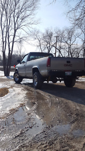 1994 gmc 4x4 safetied low millage