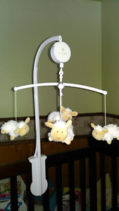 Mobile musical petits moutons