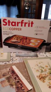 Brand new Starfrit Eco Copper Electric Griddle