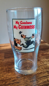 Guinness Beer Glass My Goodness My Guinness