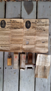 Collection of Veterinarian Bottles, Boxes & Papers