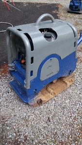 plaque vibrante diesel weber