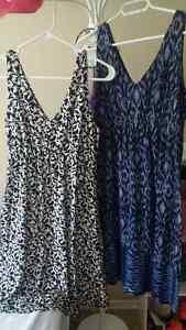2 MATERNITY DRESSES - SIZE M - LIKE NEW Kitchener / Waterloo Kitchener Area image 1