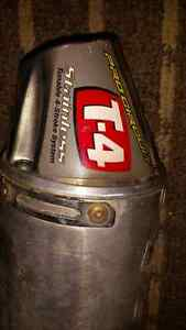 Pro circuit T-4 exhaust pipe