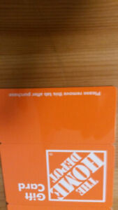 $50 The Home Depot Gift Card For $35