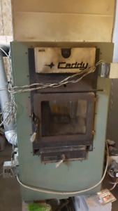 """""""The Caddy"""" wood oil furnace combo"""