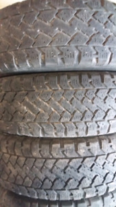 WINTER TIRES  195/ 65/r15