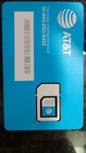AT&T Rogers Sim Chip 1 year