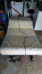 Lit electric / electric foldable bed