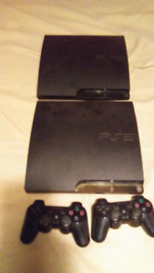 2 Playstation 3's with 10 games
