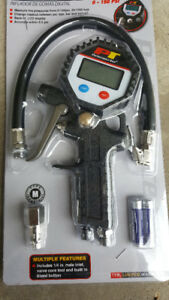 Digital Tire Inflation Gun. Measure tire pressure