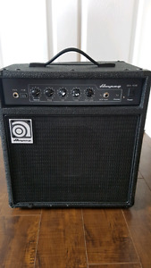 20 w bass amp used twice