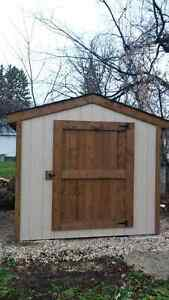 New sheds 8x8