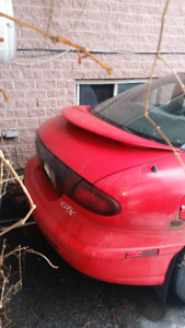 1998 Pontiac sunfire as PARTS only 550 $