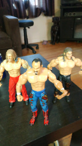 3 WWE action figures from 2003