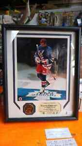 WAYNE GRETZKY FRAMED PICTURE  London Ontario image 1
