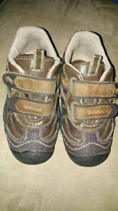 Two pairs Toddler boy shoes size 8.5