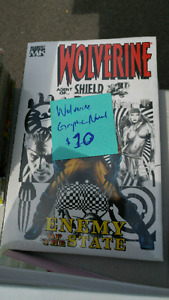 Wolverine Agent of Shield Hardcover Graphic Novel
