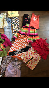 Girls 3T lot -lots of gymboree and gap