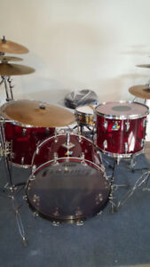 Drum ludwig de collection 1972 vista lite rouge 1500$