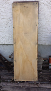Two 18.5 wide 58.5 high 1 inch thick slabs