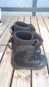 Mens Sims Snowboard boots size 10 - $40
