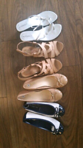 New &used shoes