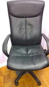 ADJUSTABLE BLACK CHAIR