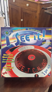 I SEE IT! ELECTRONIC GAME (BRAND NEW!)