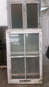 Old windows and doors.