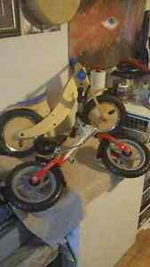 New Wooden toddler bikes