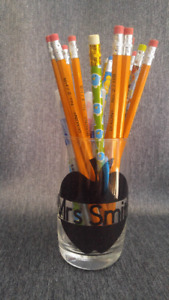 Personalized Pencil Holder (teacher gift)