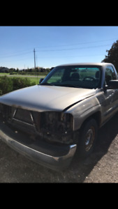 GMC Sierra 1500 parting out