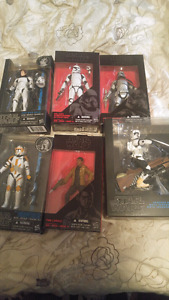 Selling my star wars black collection