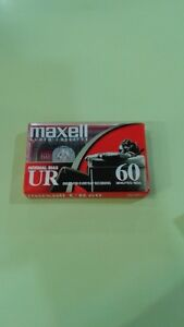 Cassette Audio Maxell 60 minutes