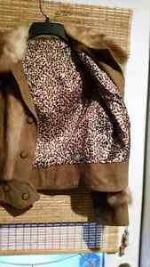 Chic Muscrat and Leather trim jacket.  Cornwall Ontario image 2
