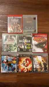 PS3 Video Game Lot
