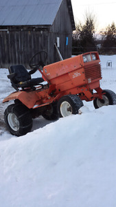 Compact Gravely Tractor