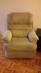 Fauteuil inclinable ( de style La-Z-Boy)