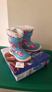 Girls Disney Frozen Size 10 Winter Boots  $35