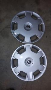 "2 - 15"" nissan hubcaps"