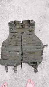 Tactical Molle vest for airsoft or paintball 40$ or trade London Ontario image 1