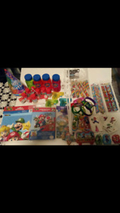 Super mario birthday party supplies.  All brand new