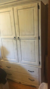 Rustic shabby shic armoire