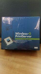 Serveur d'impression sans fil et USB