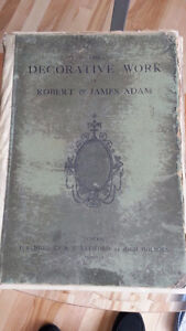 DECORATIVE WORKS OF ROBERT ADAMS - PUBLISHED 1901