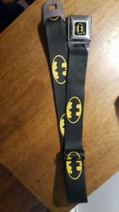 Batman car seat buckle belt