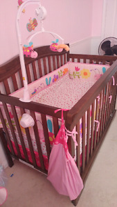 Baby Crib and Crib Set